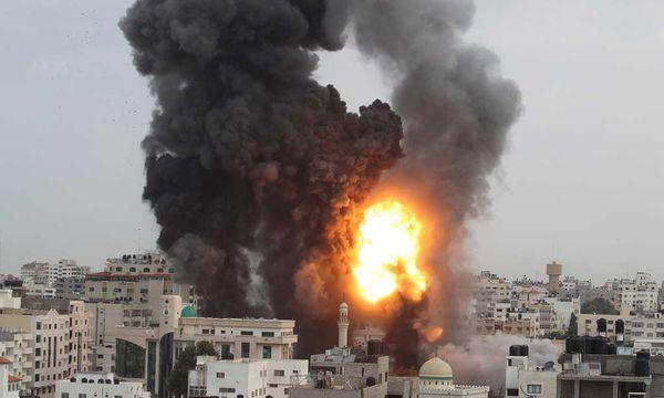 Explosion in Gaza-Stadt / Bild: (c) Reuters