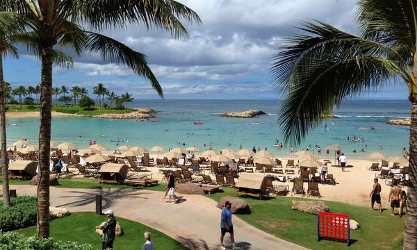 Der US-Bundesstaat Hawaii legt sich quer. / Bild: (c) Reuters (Hugh Gentry)