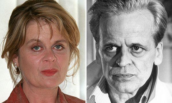 Pola Kinski und ihr Vater Klaus Kinski. / Bild: (c) EPA (WOLFGANG LANGENSTRASSEN)