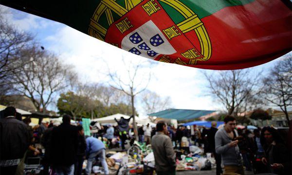Der Lissaboner Ladra-Flohmarkt / Bild: (c) AP (Francisco Seco)