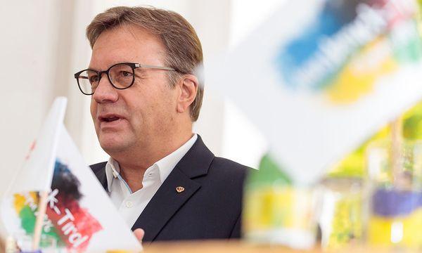 Der Tiroler Landeshauptmann Günther Platter (ÖVP). / Bild: APA/EXPA/JOHANN GRODER