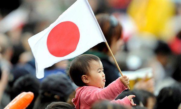 Japanisches Kind / Bild: (c) EPA (GUS RUELAS)