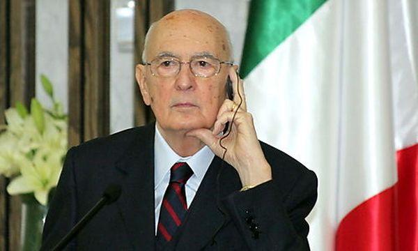 Giorgio Napolitano / Bild: (c) APA