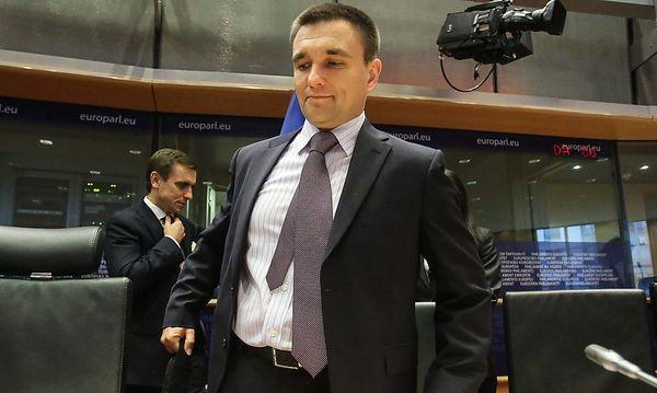 Ukrainischer Außenminister Klimkin / Bild: APA/EPA/JULIEN WARNAND