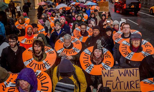 Anti-Trump-Proteste / Bild: (c) imago/Pacific Press Agency (imago stock&people)