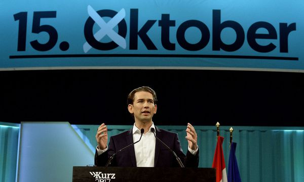 ÖVP-Spitzenkandidat Sebastian Kurz zum Wahlkampfauftakt in der Wiener Stadthalle / Bild: APA/HERBERT PFARRHOFER