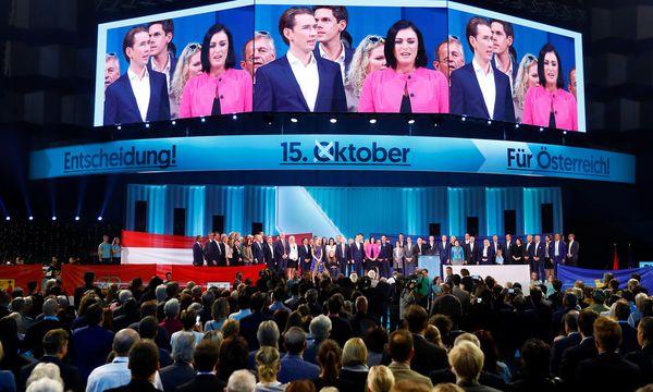 Wahlkampfauftakt der ÖVP / Bild: REUTERS