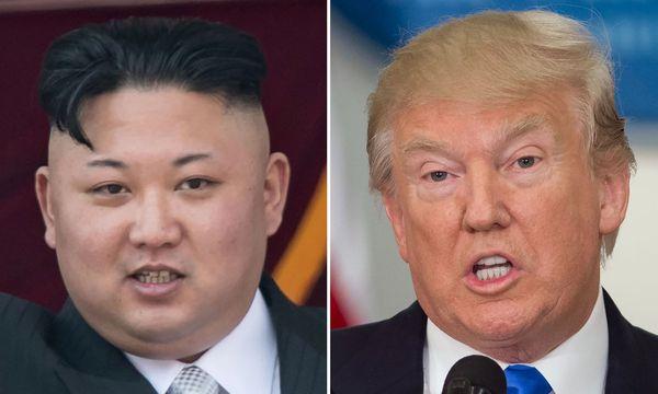 Kim Jong-und und Donald Trump / Bild: APA/AFP/SAUL LOEB/ED JONES