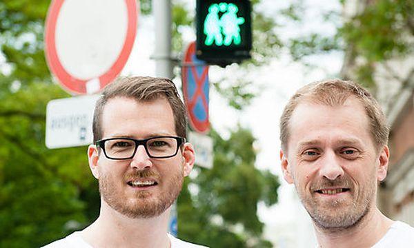 Die Kreativpiloten Peter Rubik (r.) und Michael Bratl (l.) / Bild: (c) Christoph Liebentritt/ Ampelpärchen.rocks