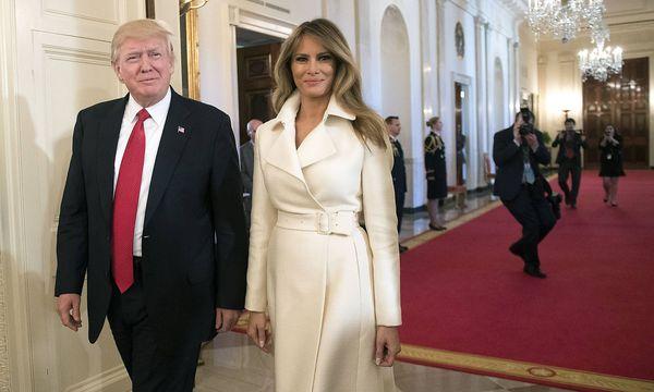 Donald Trump and First Lady  / Bild: (c) imago/UPI Photo (imago stock&people)