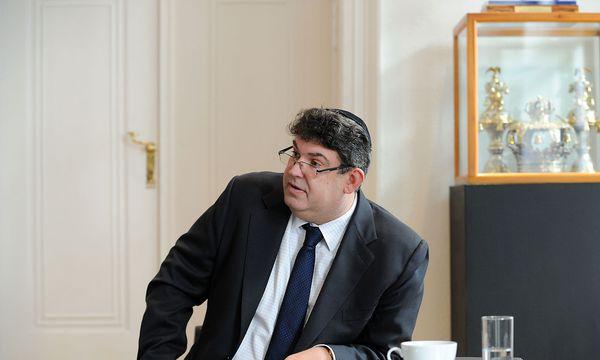 IKG-Präsident Oskar Deutsch. / Bild: Die Presse/Clemens Fabry