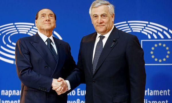 Tajani gehört neben Berluconi zu den Gründern der Forza Italia. / Bild: REUTERS