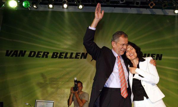 Nach der Wahl 2006 hatten Alexander Van der Bellen und Eva Glawischnig noch Grund zur Freude. / Bild: APA