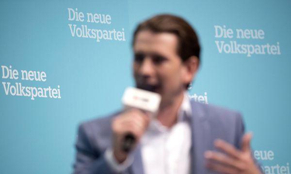 Außenminister Sebastian Kurz (ÖVP) / Bild: imago/Andreas Schaad