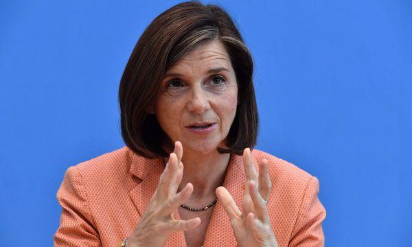 Katrin Göring-Eckardt  / Bild: APA/AFP/JOHN MACDOUGALL