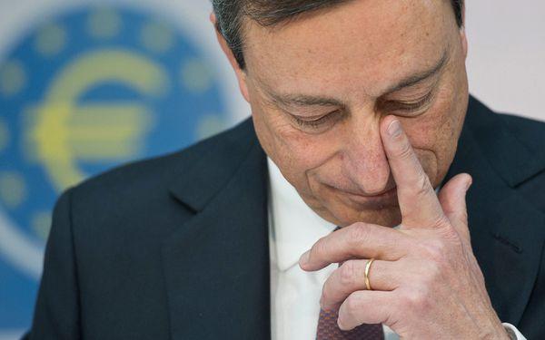 EZB-Chef Mario Draghi / Bild: (c) EPA (BORIS ROESSLER)