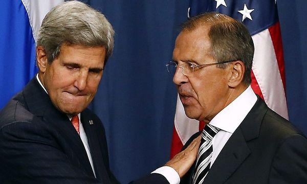 Kerry, Lawrow / Bild: REUTERS