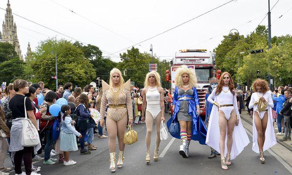 Für Wiens Image ist etwa die Regenbogenparade ein Gewinn, den Innenstadthändlern sind die Veranstaltungen aber zu viel.  / Bild: (c) APA/HERBERT NEUBAUER