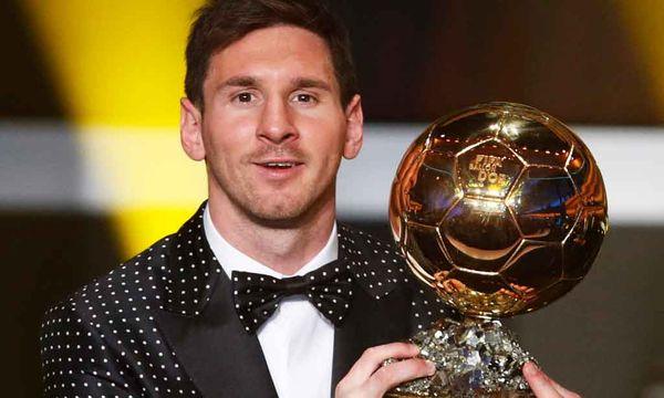 Lionel Messi zum vierten Mal Weltfußballer  / Bild: AP