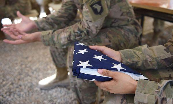 US-Soldaten: Mark Green sollte Heeresminister werden. / Bild: APA/AFP/WAKIL KOHSAR
