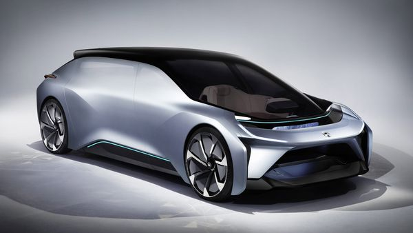 Elektro-Start-up Nio zeigt E-Limousine Eve  / Bild: Nio