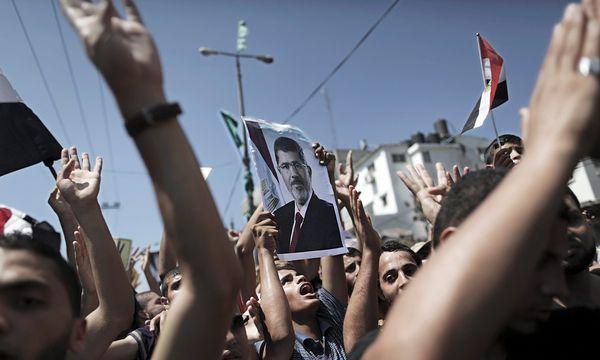 Pro-Mursi-Anhänger in Kairo /