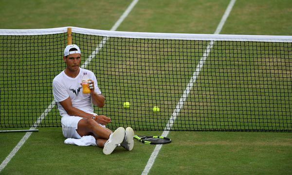 Aus wissenschaftlicher Sicht könnte Rafael Nadal auch noch in zehn Jahren in Wimbledon zu sehen sein. / Bild: REUTERS