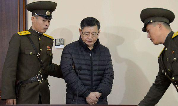 Hyeon Soo Lim (Archivbild) wurde in Nordkorea vorgeworfen, subversiv tätig gewesen zu sein. / Bild: APA/AFP/KCNA VIA KNS/KCNA