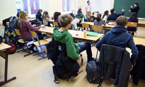 Mehr als 25 Schüler pro Klasse? Dann gibt es Protest. / Bild: (c) Die Presse (Clemens Fabry)