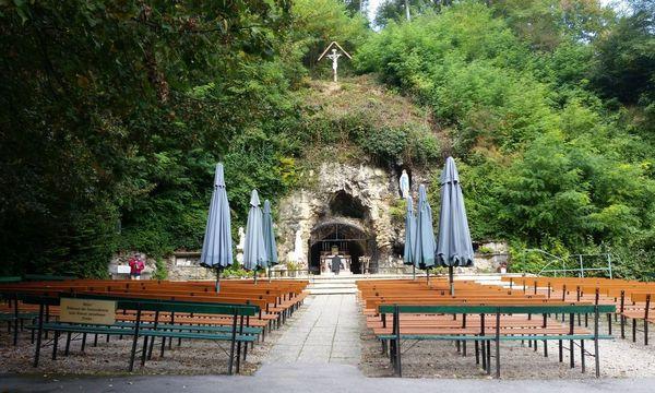 Die Lourdesgrotte in Maria Gugging. / Bild: (c) Erich Kocina