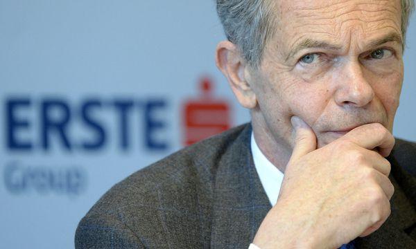 Erste-Chef Andreas Treichl  / Bild: APA/HANS KLAUS TECHT
