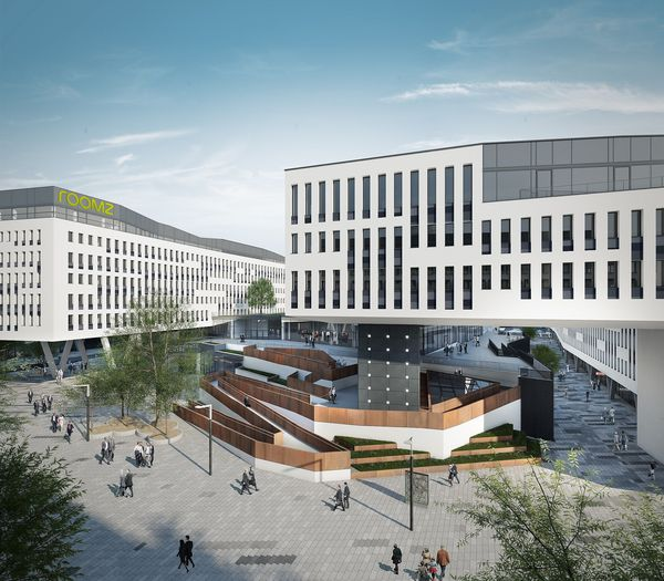 Visualisierung Bank Austria Campus /