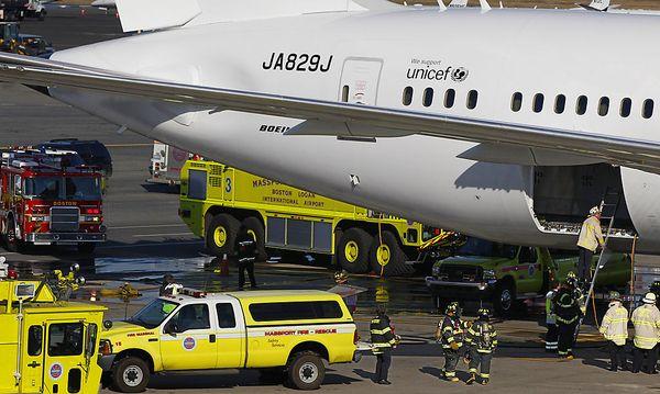 Feuerwehreinsatz in einem
