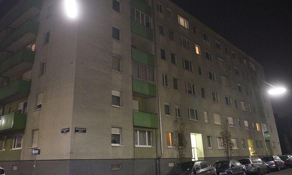 In diesem Wohnhaus wurde der 17-Jährige festgenommen / Bild: (c) APA/HANS PUNZ (HANS PUNZ)