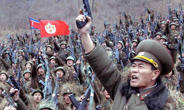 Nordkoreanische Truppen / Bild: (c) EPA (KCNA)