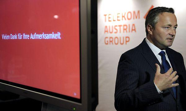 Telekom-Chef Hannes Ametsreiter / Bild: APA/HANS KLAUS TECHT