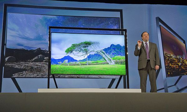 Samsungs Ultra-HD-TV / Bild: (c) AP (Julie Jacobson)