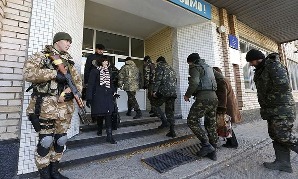 85.000 Sicherheitskräfte waren bei den ukrainischen Parlamentswahlen im Einsatz. / Bild: REUTERS