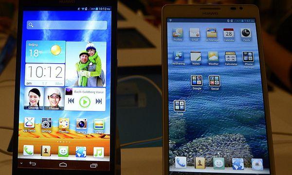 Huawei Ascend Mate / Bild: (c) EPA (MICHAEL NELSON)