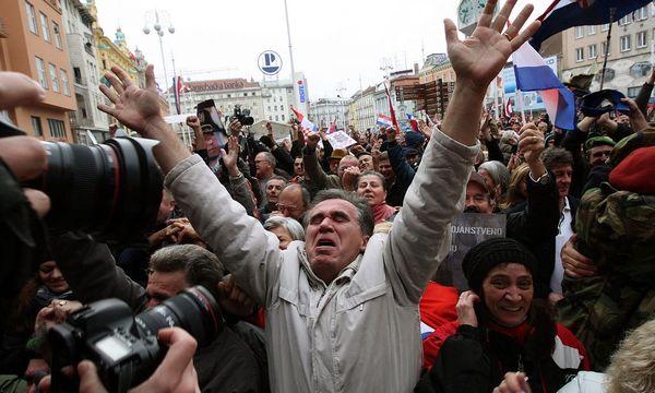 CROATIA THE HAGUE WAR CRIMES TRIBUNAL / Bild: EPA
