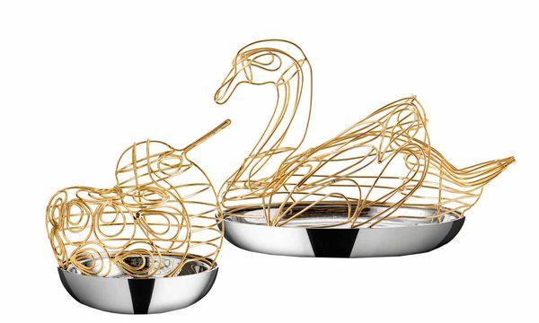 (c) Beigestellt Vögel. Eine figurative Arbeit für den schwedischen Hersteller Svenskt Tenn.