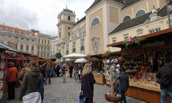 Wien überwacht verstärkt Ostermärkte wie etwa jenen auf der Freyung. / Bild: (c) Clemens Fabry