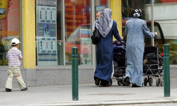 Muslimische Frauen in Wien / Bild: (c) imago