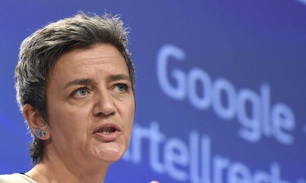EU-Wettbewerbskommissarin Margrethe Vestager / Bild: AFP (JOHN THYS)