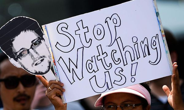 Proteste gegen die NSA-Spähmethoden in Deutschland / Bild: EPA