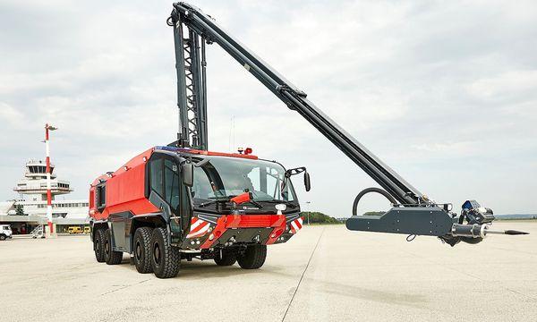 Feuerwehrautos aus Oberösterreich waren schon stärker gefragt.  / Bild: Rosenbauer