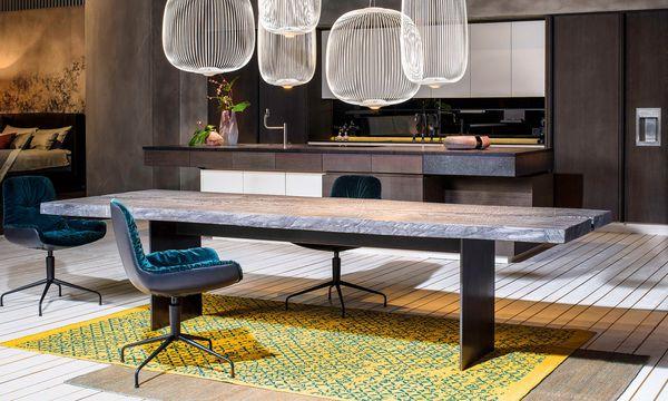 (c) Gabriel Büchelmeier Das Endprodukt ist ein Tisch mit einer lebendigen Oberfläche.