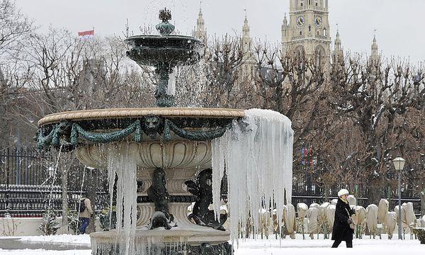 lange Winter Wien / Bild: APA/HANS PUNZ