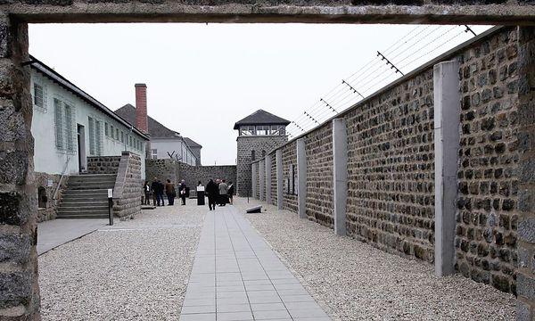 Blick in einen Hof des ehemaligen Konzentrationslagers Mauthausen / Bild: APA/RUBRA
