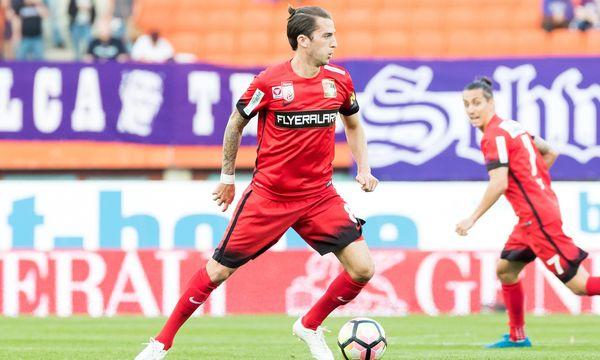 Admiras Christoph Knasmüllner führt mit sechs Treffern die Bundesliga-Torschützenliste an. / Bild: (c) Sebastian Pucher  / picturedesk.com